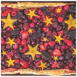 Picture of Star Slab Pie