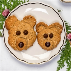 Picture of Peanut Butter Bear Cookies