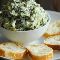 Picture of Baked Spinach Artichoke Dip